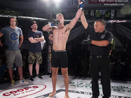 VIDEO: Jack Congdon post-fight interview - Cage Titans 48