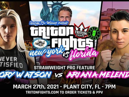 """Glory Watson says """"Mentally I'm a Different Fighter"""" ahead of her Pro Debut at Triton Fights 18"""