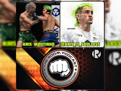 The Room Podcast - Kris Moutinho Recaps His UFC 264 Fight Of The Night Experience