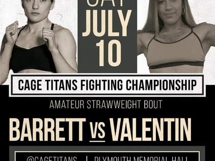 The Room Podcast: Erica Valentin talks Ammy debut at Cage Titans 48