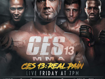 Fight Night Rewind: CES MMA 13: Real Pain