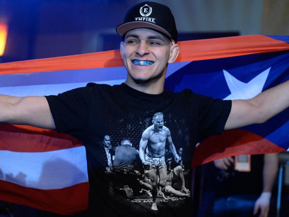 "Top New England Bantamweight ""Suave"" Santiago Takes His Show on the Road at Titan FC 67"