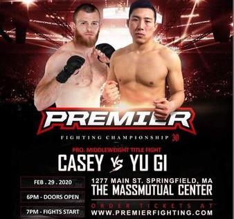 "Premier FC 30 Preview: Casey v. Ji - ""Strap Season"""