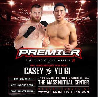 Premier FC 30: Casey v. Ji Live Play-By-Play