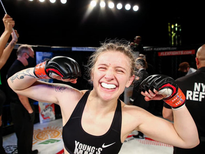 """Glory """"The Fury"""" Watson Notches First Professional Victory at Flex Fights Vol. 6"""