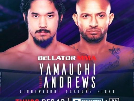 BREAKING: Nate Andrews Fight Scrapped from Bellator 254