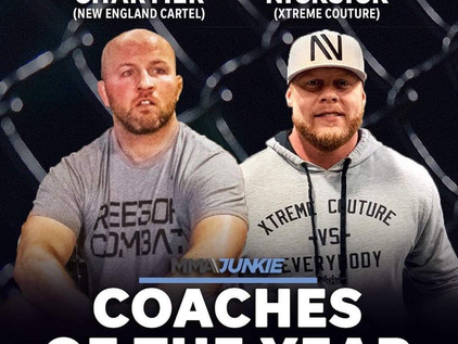New England Cartel Frontman; Tyson Chartier Garners Co-Coach of the Year Honors