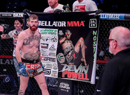 Professional Mixed Martial Artist; Devin Powell