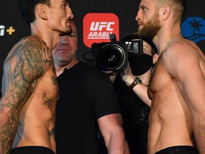 "Calvin Kattar v. Max Holloway ""A Go"" for UFC Fight Island 7 Headliner"