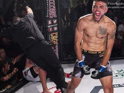 VIDEO: Miguel Sevasin post-fight interview - Cage Titans 48