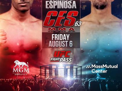 CES 63 Breakdown: Ashiek Ajim vs Carlos Espinosa