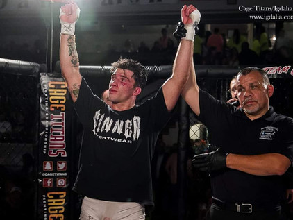 VIDEO: Billy Goff post-fight interview - Cage Titans 48