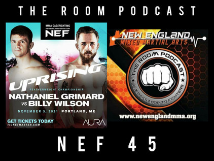 The Room Podcast: Nathaniel Grimard on his NEF Featherweight Title defense at NEF 45