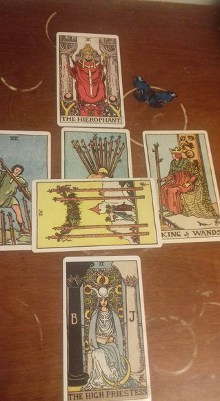 The most important tarot reading