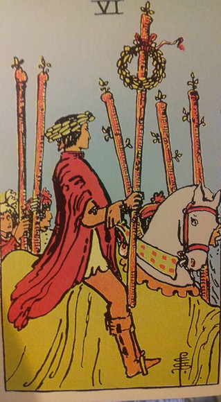 The secret warning in the 6 of wands