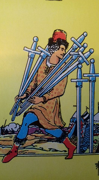 Why I love the 7 of swords