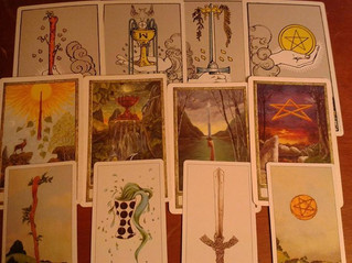The 4 Tarot suits, explained.
