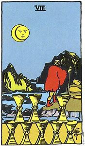 My 8 of cups trip