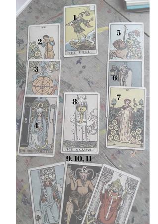 A Soul Path Tarot spread