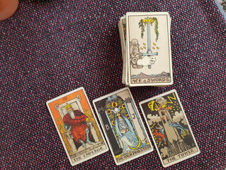 Stalked by the 3 of swords