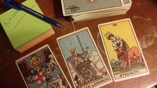 Using Tarot to Ease Stress