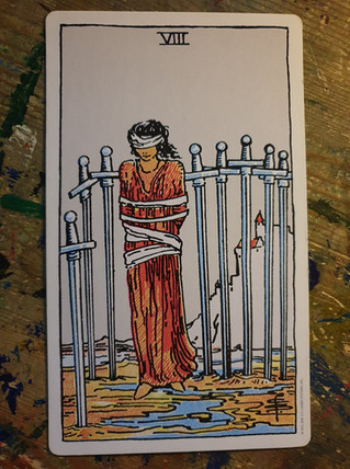 "Trapped in the 8 of swords ""Gas-lighting"""