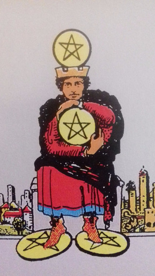 The  POWER of the 4 of pentacles