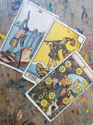 Tarot and the black poles...