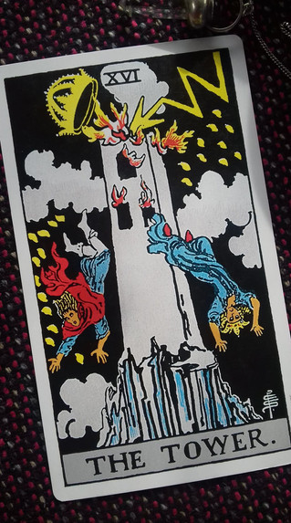 When Tarot predicts trouble ahead.