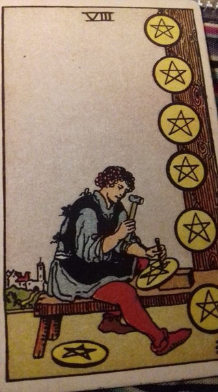 Insights on the 8 of Pentacles