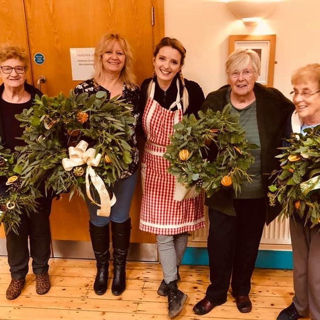 Christmas Wreath making Classes