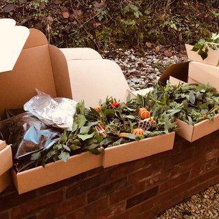 Wreath making classes Derbyshire