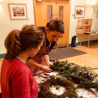 Derbyshire Wreath making classes