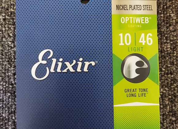 Elixir Optiweb Electric Strings