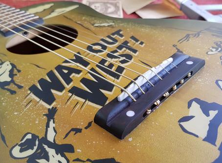 Acoustic Guitar Bridge Repair