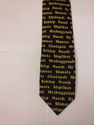 Jewish Slang Tie
