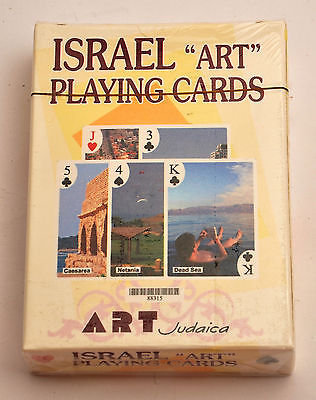Israel ''Art'' Playing Cards