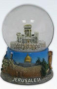Temple Snow Globe
