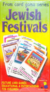 Jewish festivals Card Game