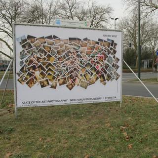 Billboard in Dusseldorff for State of The Art