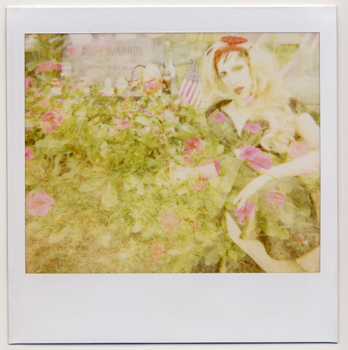 Untitled (Heidi At Andy's Grave), 2012