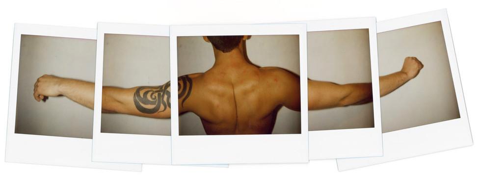 Untitled (Tribal Tattoo) - 2008