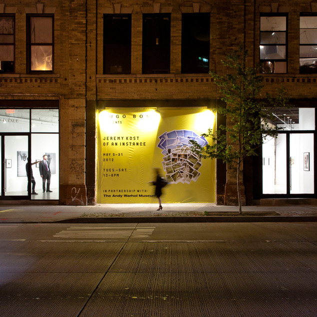 Outside View - Of An Instance - The Andy Warhol Museum (NYC), 2012