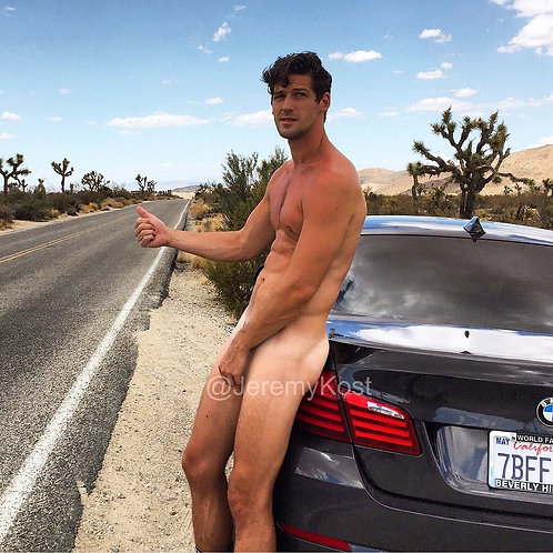 Adam in Joshua Tree
