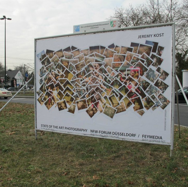 Billboard in Dusseldorff