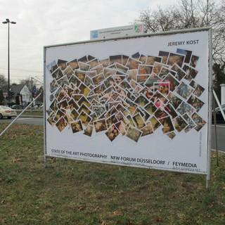 Billboard in Dusseldorff
