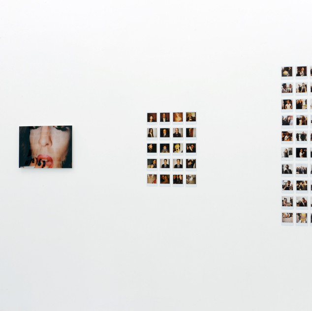 "Installation View - ""Between the Lines"""