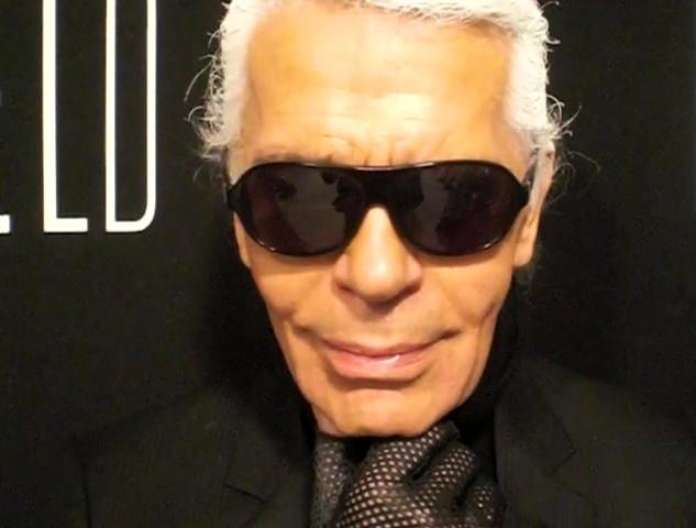 """Screen Test (Karl Lagerfeld)"", 2008"