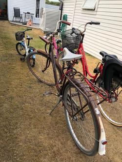 Cyklar som finns i stugan (3)