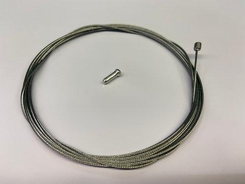 Galvanised Gear Cable - Road & MTB Tube Nipple